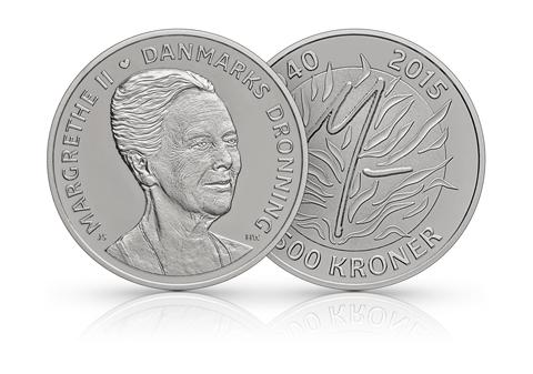 forside af mønt